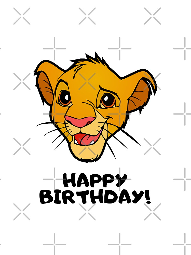 Baby Gift Lion King Simba Original Baby Bodysuit Baby One-Piece Baby Birthday Baby Shower 100/% Cotton Baby Onepiece