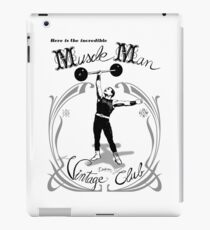 Muscle Man - Vintage Club iPad Case/Skin
