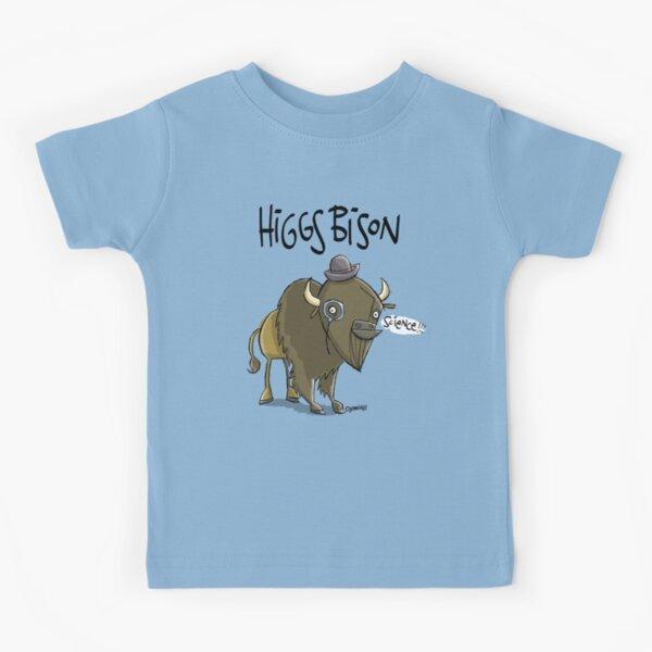 Higgs Bison : Original Size (bigger) Kids T-Shirt