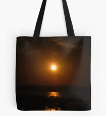 Sunset over Texas Tote Bag