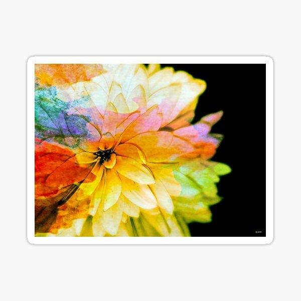 False Sunflower Sticker