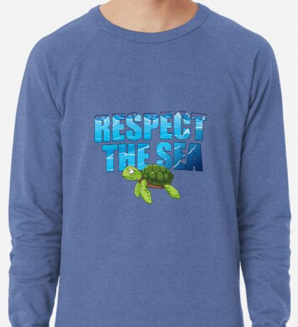 Respect the Sea Lightweight Sweatshirt