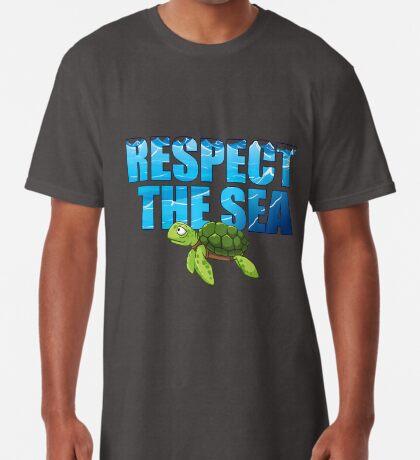 Respect the Sea Long T-Shirt