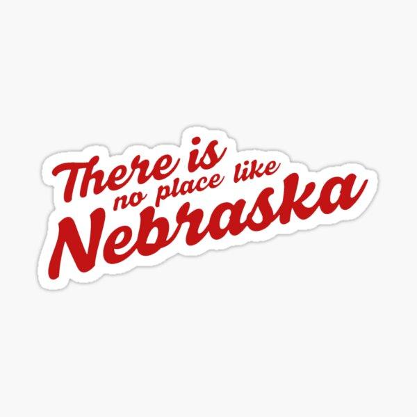 No Place Like Nebraska Sticker