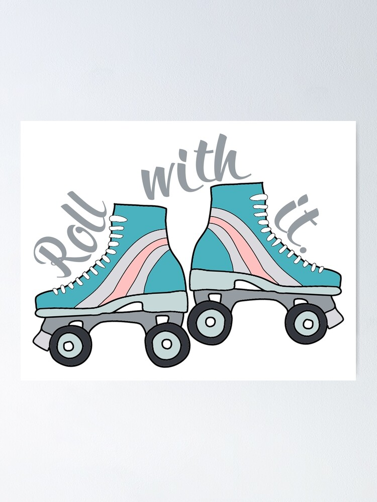 ROLLER SKATING IS MY SUPERPOWER Skater Love Vinyl Decal Sticker A