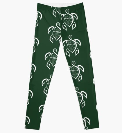 Try to be like the turtle, at ease in your own shell.  Leggings