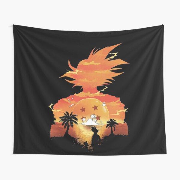 Goku Sunset Tapestry
