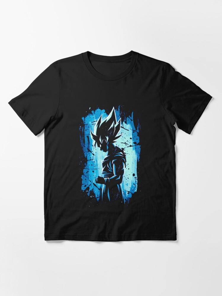 Alternate view of Super Saiyan Blue Essential T-Shirt
