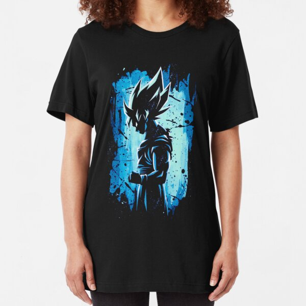 Super Saiyan Blue Slim Fit T-Shirt