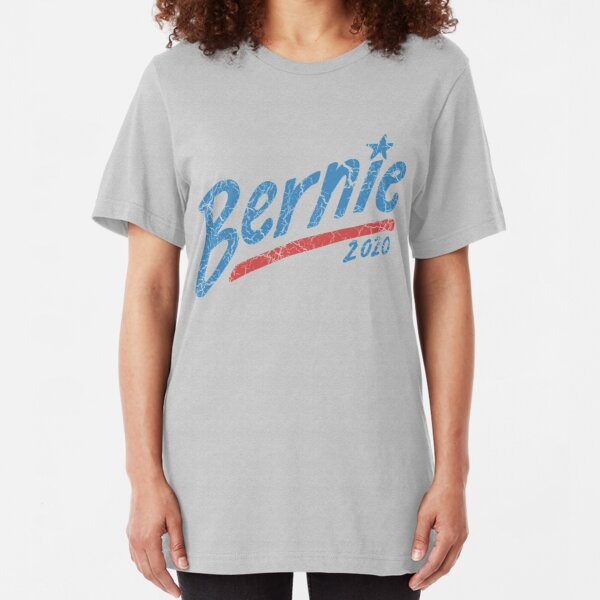 Mashed Clothing Bernie 2020 Star//Stripes Presidential Election 2020 Toddler//Kids Short Sleeve T-Shirt