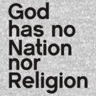 Nor Religion by Jaime Cornejo