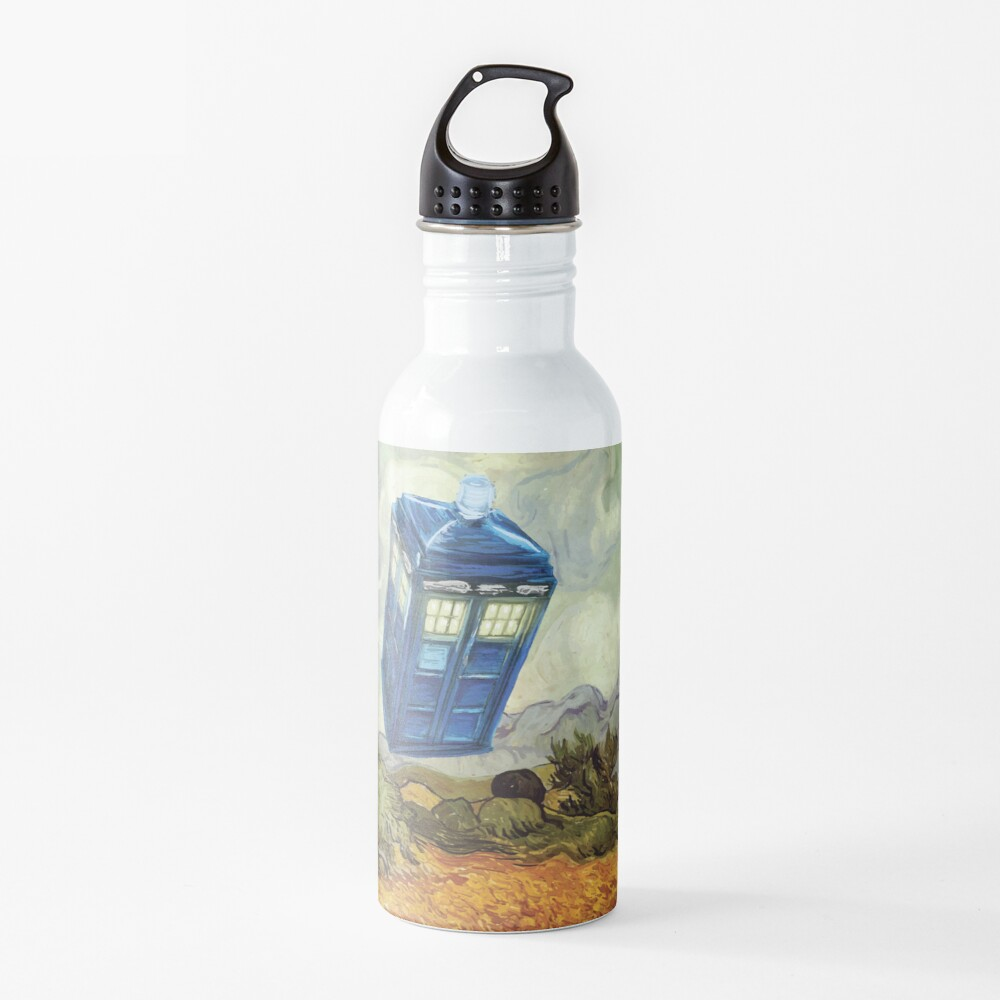 Vincent and the Doctor Water Bottle