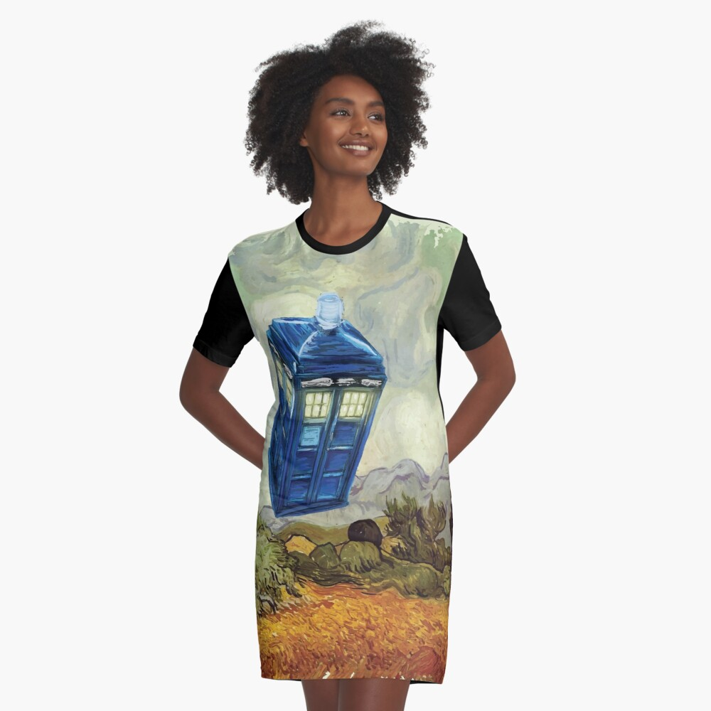 Vincent and the Doctor Graphic T-Shirt Dress