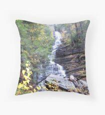 Lye Brook Falls, Vermont Throw Pillow