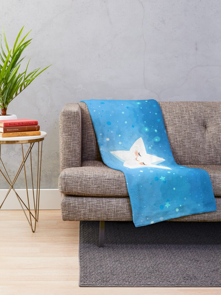 Alternate view of Make a Wish Throw Blanket