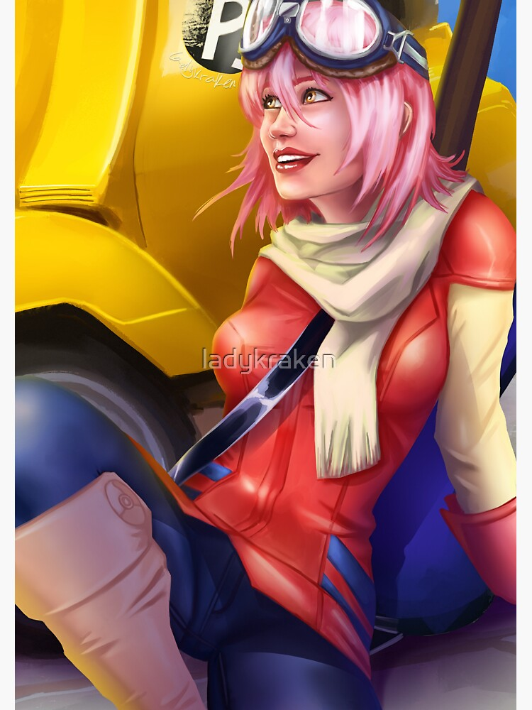 Motorcycle Driver by ladykraken
