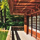 Japanese Tea House by ArtCooler