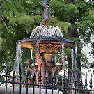 Peaceful Fountain by InvictusPhotog