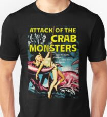 Attack of the Crab Monsters! Vintage  Unisex T-Shirt