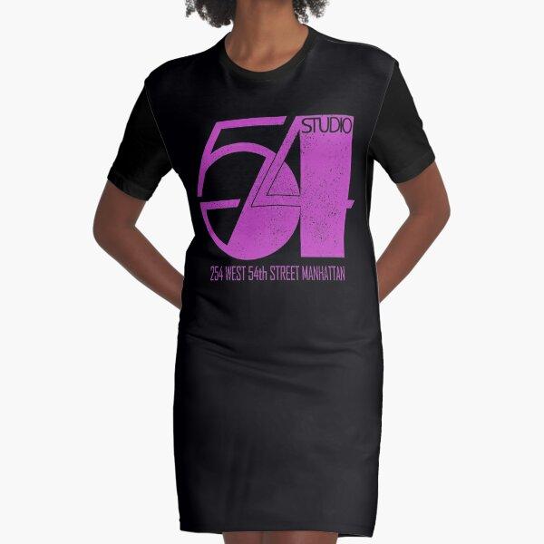Studio 54 (vintage distressed design) Graphic T-Shirt Dress