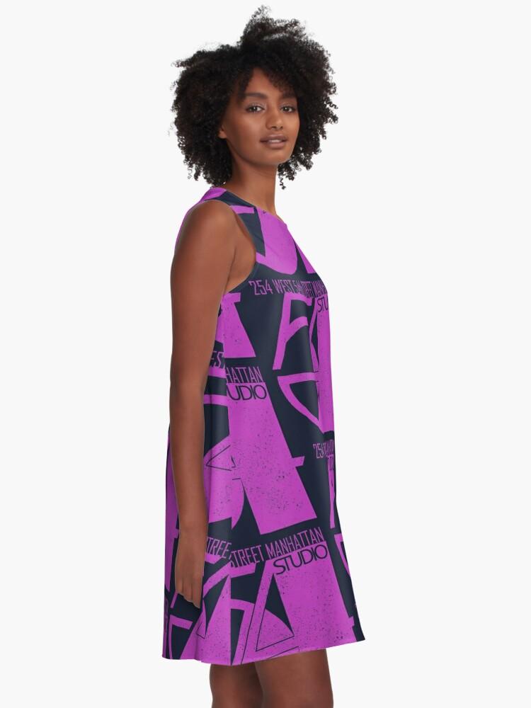 Alternate view of Studio 54 (vintage distressed design) A-Line Dress