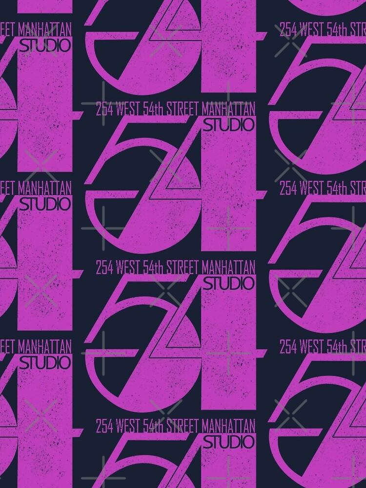 Studio 54 (vintage distressed design) by siggyspatsky
