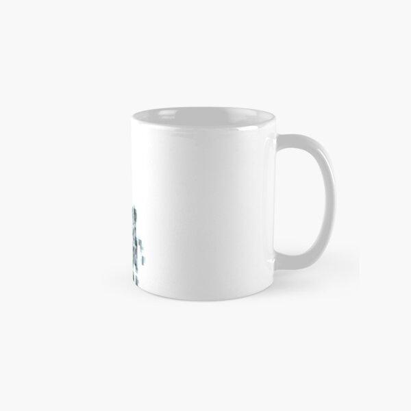 8 bit pixel pedestrians (dark) Classic Mug