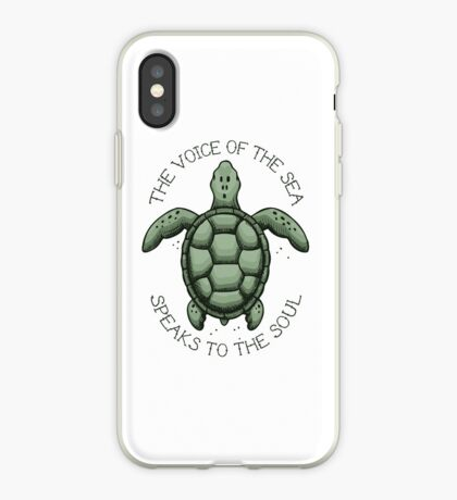 The Voice of the Sea Speaks to the Soul iPhone Case