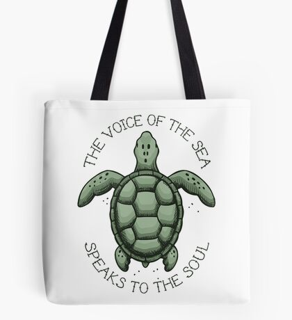 The Voice of the Sea Speaks to the Soul Tote Bag