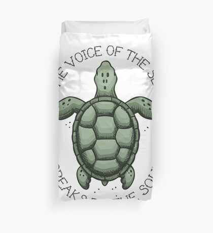 The Voice of the Sea Speaks to the Soul Duvet Cover
