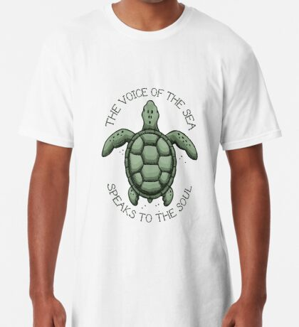 The Voice of the Sea Speaks to the Soul Long T-Shirt
