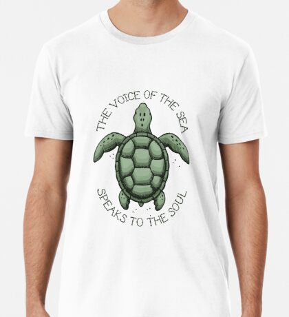 The Voice of the Sea Speaks to the Soul Premium T-Shirt