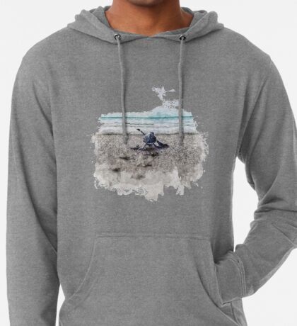 Baby Sea Turtle Waling - Watercolor  Lightweight Hoodie