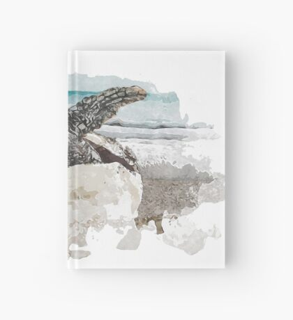 Baby Sea Turtle Hatching - Watercolor Hardcover Journal