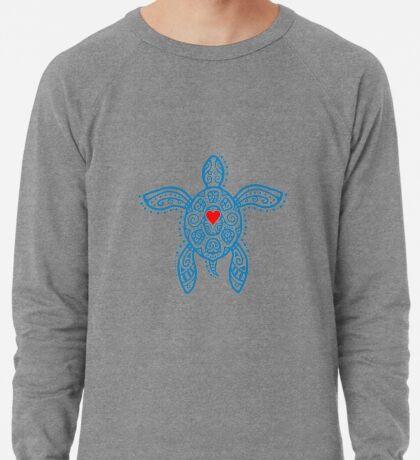 Sea Turtle Hope - Tribal Lightweight Sweatshirt