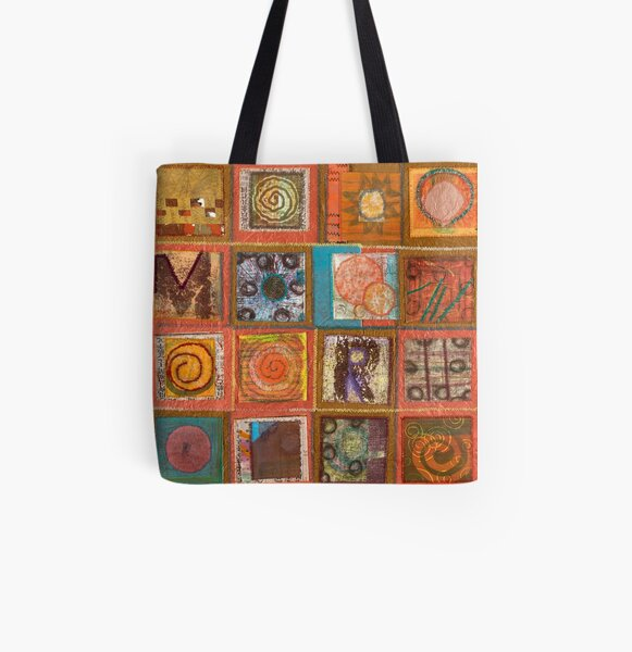 The Succulent Edge of a Winter Moon All Over Print Tote Bag