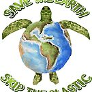 Save the Earth Skip the Plastic by mavisshelton