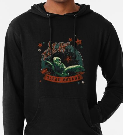 Sea Turtle Hope - Vintage Pop Lightweight Hoodie
