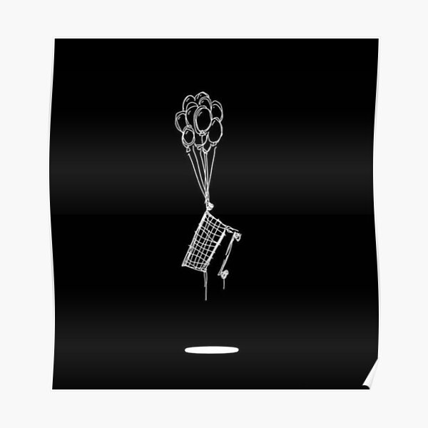 NF cart and ballons Poster