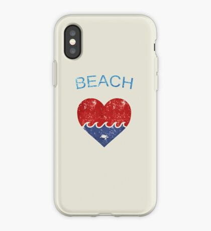 Beach LOVE  iPhone Case