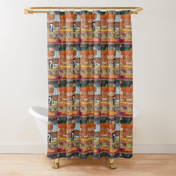 All destiny is determined by shape Shower Curtain