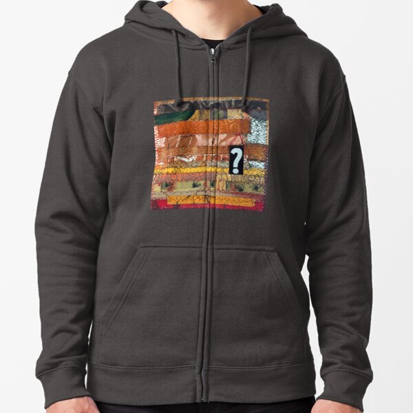 All destiny is determined by shape Zipped Hoodie