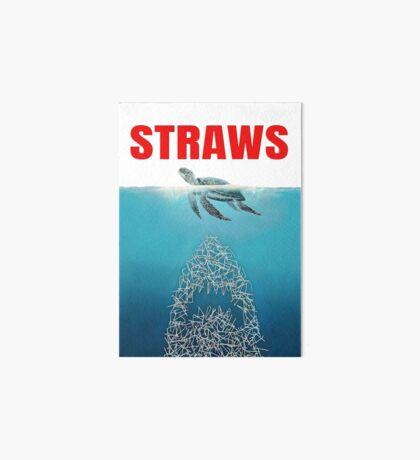 Straws - Vintage Art Board Print