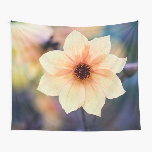 Yellow Summer Flower Tapestry