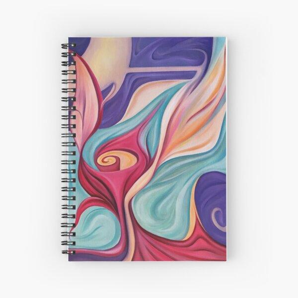 Rosa Cósmica Cuaderno de espiral