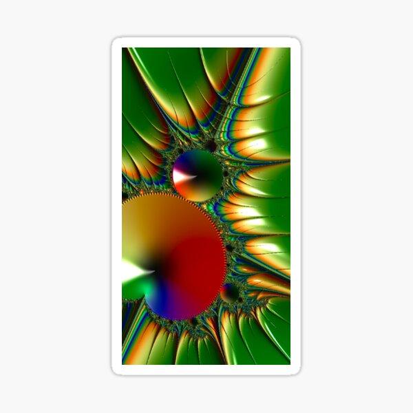 Fractal abstract art Sticker