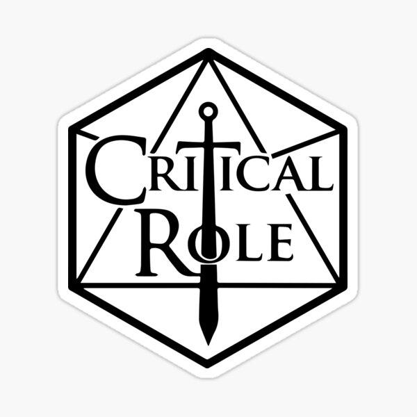 Critical Role Sticker