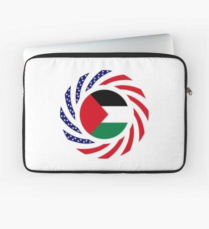 Palestinian American Multinational Patriot Flag Series Laptop Sleeve