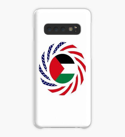 Palestinian American Multinational Patriot Flag Series Case/Skin for Samsung Galaxy