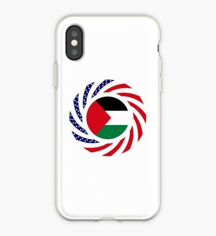 Palestinian American Multinational Patriot Flag Series iPhone Case